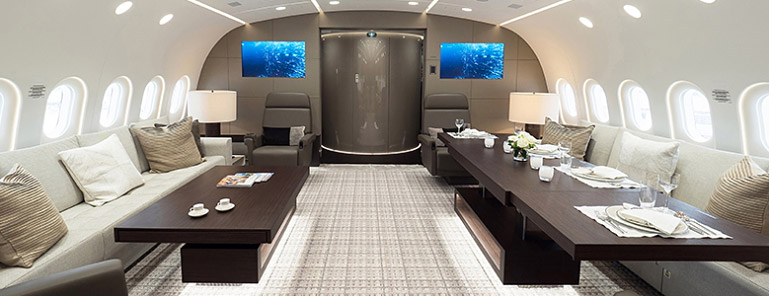 Greenpoint Aerospace Interior - Galley Support Innovations Client